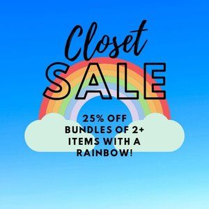 Rainbow Items: Bundle 2+ Pieces for 25% Off